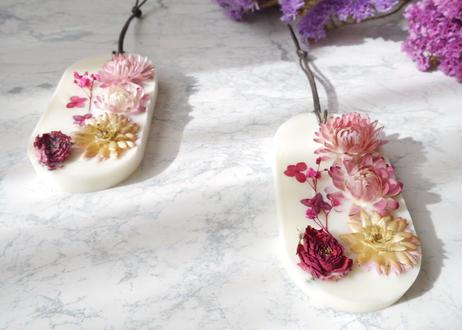 《花遊びアロマワックスサシェ》Pink Snow