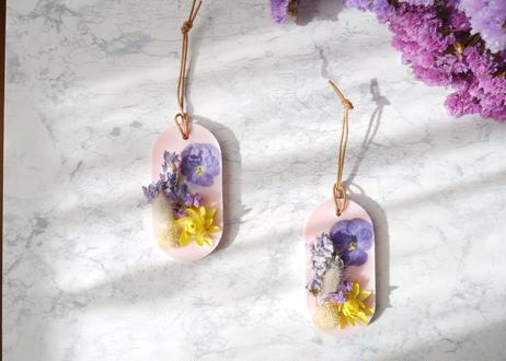 《花遊びアロマワックスサシェ》Pinky Viola