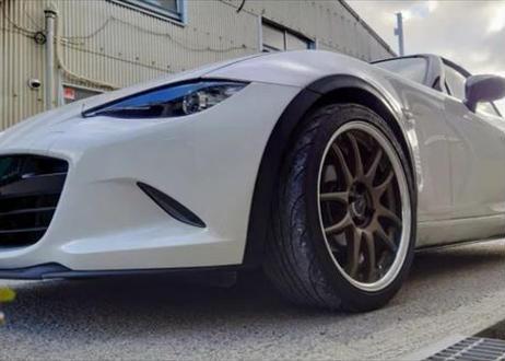 ABS製 フロントスポイラー ND ロードスター