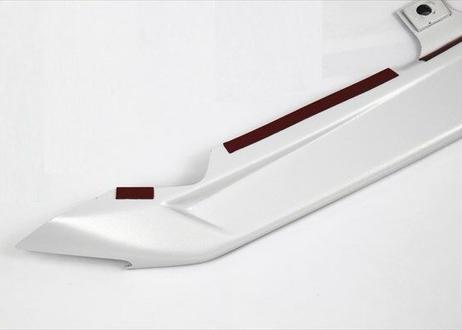ABS製 フロントスポイラー  パール塗装済 &純正スポイラー左右塗装済
