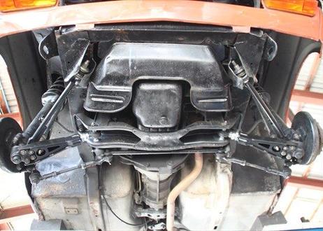 調整式テンションロッド&ブッシュセット   サニートラック