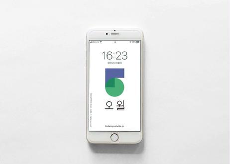 iPhone 用壁紙 _ MAY01