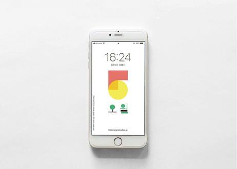 iPhone 用壁紙 _ MAY02