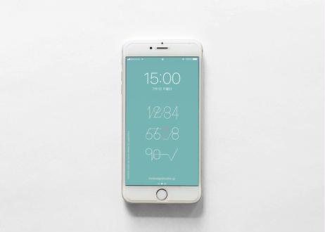 iPhone 用壁紙 _ JULY-数