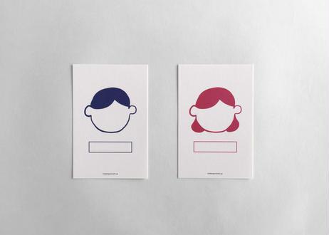 気持ちを届ける _ 顔カード