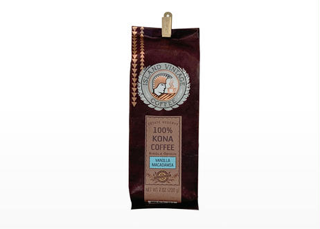 【KONA COFFEE】VANILLA MACADAMIA