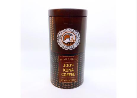 【KONA COFFEE】PEABERRY[3.5oz TIN]