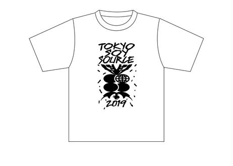 TOKYO SOY SOURCE 2019  Tシャツ【White】 & 手ぬぐい セット *送料込み!! クリックポスト便にて単体発送