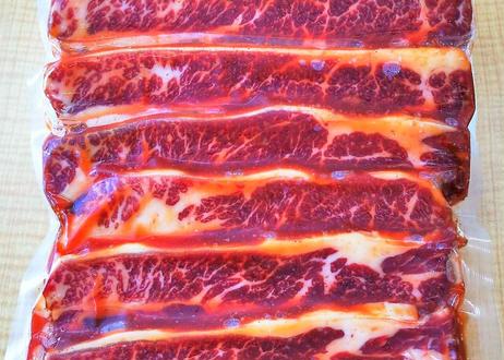 旨い味付 牛骨付BBQカルビ 500g