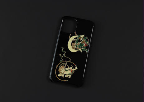 iPhone case 11 Pro Max 風神雷神|Wind and thunder gods