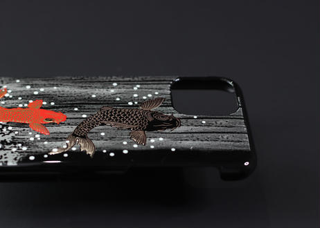 iPhone case 11 Pro Max 鯉の滝登り|Koi fish climbing against a waterfall