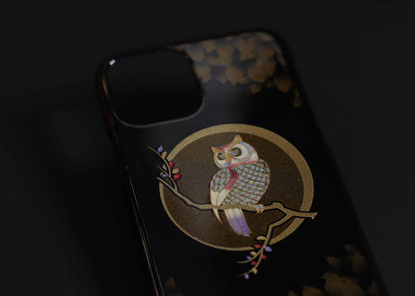 iPhone case 11 Pro  Max ふくろう|Owl