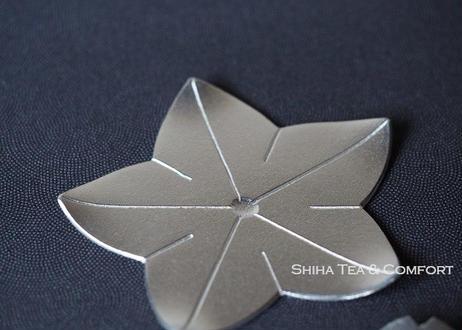 能作花朵型 锡碟4 件 Nosaku Flower Tin tray 4 pcs