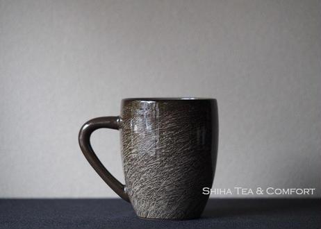 横石臥牛霙刷毛马克杯 Yokoishi Gagyu White Clay Brushing Ceramic Mug