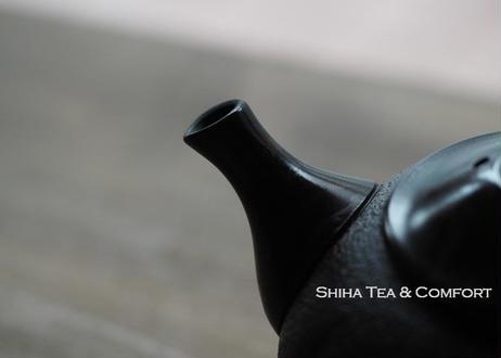 常滑香臣藻挂大理石风格壶急須 KOSHIN Black Red Mable Seaweed Teapot KYUSU