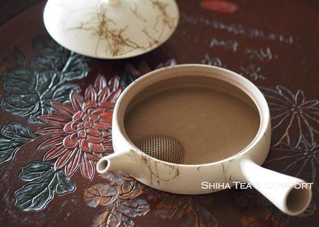 甚秋扁平壶急須 JINSHU Flat Kyusu Gokuhira Ice brew Seaweed Teapot KYUSU