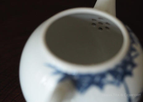 加藤清昌青花瓷茶壺茶杯急須 Kyoto Blue & White bamboo Kyoto Teapot Set(NOT include  Tea leaf canister) KYUSU
