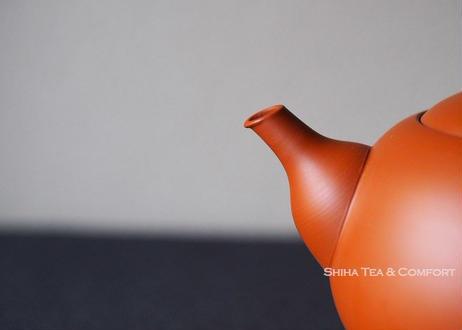玲光朱泥茶壺Shiha原創急須  Reiko Red Clay Fine Clay  Teapot (Shiha Original) KYUSU