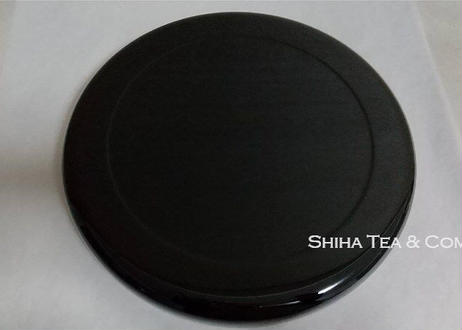 Clearance: Japanese lacquer Round Tea Tray  (free shipping)
