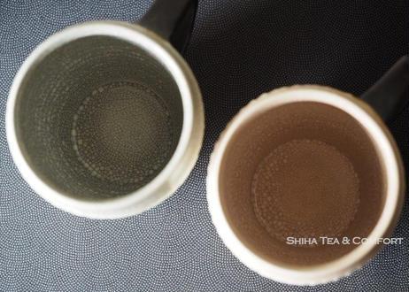 薩摩色泽开片跳刀紋馬克杯一双  Satsuma ware Pair Mug Cups