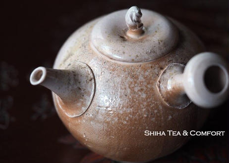 白岩大佑柴焼急須 SHIRAIWA TAISUKE Wood-fired Light Pink Kyusu Teapot
