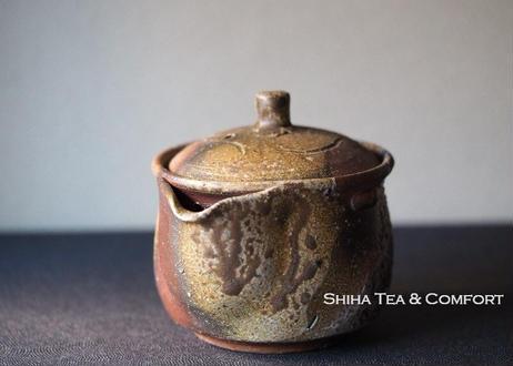 Bizen wood fired Houhin Yellow Ash 備前 宝瓶 BX