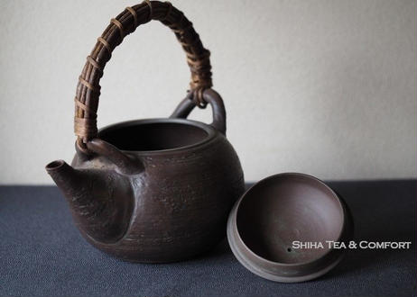 素三章魚盖钮土瓶茶壺急須  Motozo  Octopus Dobin Teapot Kyusu