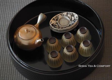 黑漆沉金茶具盒 Black Lacquer  High Grade Tea Ware Box