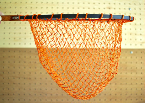 Off Craft ×JMW Folding Landing Net Titanium ver.(with Flap Mesh Bag)