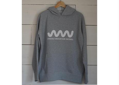 JMW × unhalfdrawing  sweat long slieeve hoodie(BRING body)