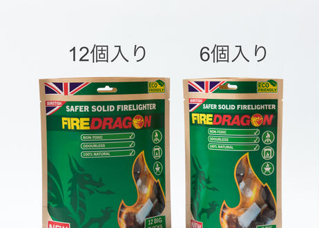 Fire Dragon 12個入り(植物由来エタノール固形燃料)