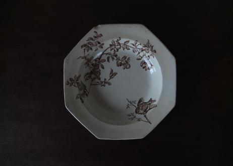 1769年代 イギリス製 オクトゴナル・プレート皿(C)