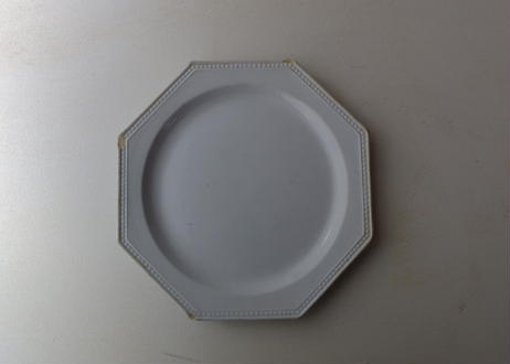 Montereau Octagonal Plate (19th c,France)