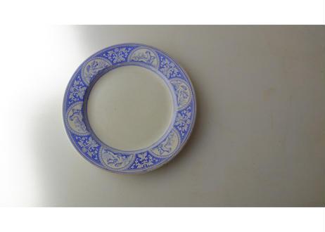 """Choisy Le Roi """"LOUVRE"""" Plate"""