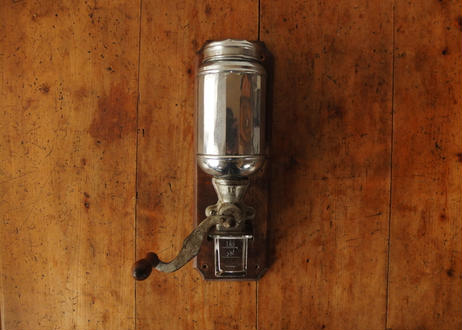 Wall-maounted coffee mill (Belgium)