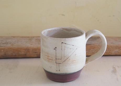 音の鳴る丸マグカップ(bird)