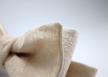 蝶ネクタイ KIMONO fabric 吹寄せ文様 西陣織  上京蝶帯 #657