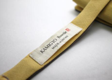 蝶ネクタイ KIMONO fabric 西陣織 松葉文様  上京蝶帯 #636