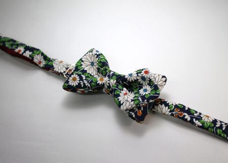 蝶ネクタイ KIMONO fabric 型友禅  上京蝶帯 #652