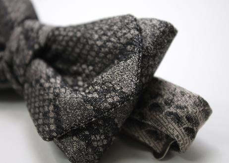 蝶ネクタイ KIMONO fabric 蛇柄 西陣織 帯地 上京蝶帯 #587