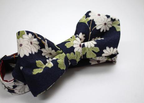 蝶ネクタイ KIMONO fabric 型友禅  上京蝶帯 #515
