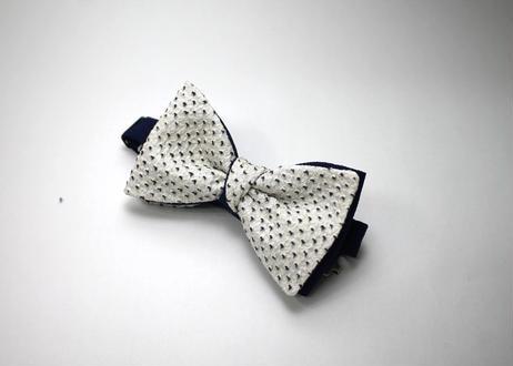 蝶ネクタイ KIMONO fabric 総絞り染 上京蝶帯 #520