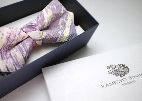 蝶ネクタイ Import fabric イタリア製ビンテージファブリック 上京蝶帯 #370