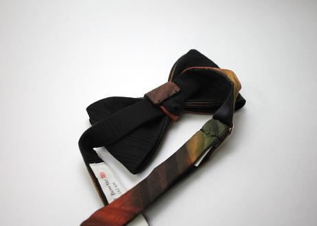 蝶ネクタイ KIMONO fabric ぼかし染 グラデーション 上京蝶帯 #573