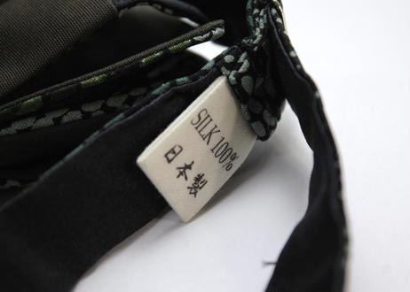 蝶ネクタイ KIMONO fabric 型友禅 上京蝶帯 #651