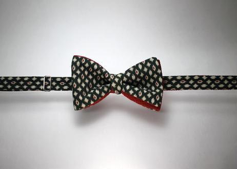 蝶ネクタイ KIMONO fabric 型友禅 上京蝶帯 #668