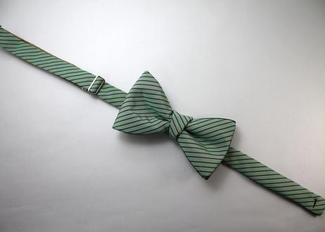 蝶ネクタイ KIMONO fabric 袴地 上京蝶帯 #557
