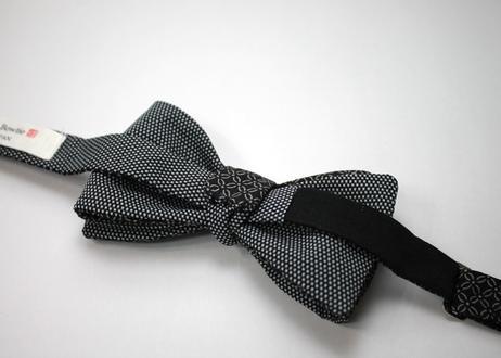 蝶ネクタイ KIMONO fabric 七宝花菱 上京蝶帯 #595