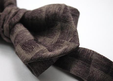 蝶ネクタイ KIMONO fabric 市松文様 上京蝶帯 #559