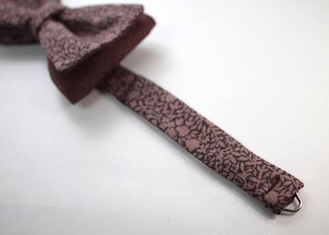 蝶ネクタイ KIMONO fabric 型友禅 上京蝶帯 #667
